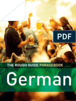 German Dictionary Phrase Book 3 Rough Guide Phrase Books