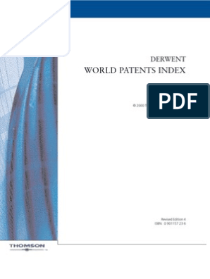 World Patent Index | Chemical Elements | Polymers