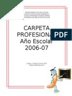 Divisiones de La Libreta Profesional
