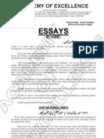 Important Essays for Class IX-X