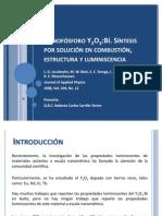 Nanofósforo Y2O3