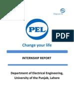 PEL Transformer Unit Internship Report