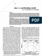 Blast-furnace Coke-A Coke Blending Model