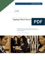 McKinseyQuarterly - Tapping China's Luxury Goods Market