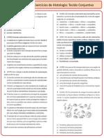 Lista Histologia 2 - Tecido Conjuntivo