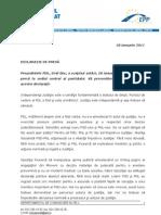 Declaratie de Presa_Emil Boc_28 Ianuarie 2011