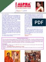 Alpha Mind Power News Letter August 2011