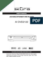AIDVD2122 User Manual
