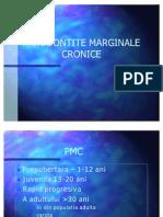 PARODONTITE MARGINALE CRONICE 2007