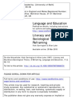Bourdieu and Language