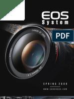 Canon EOS System Calatog - Spring 2008