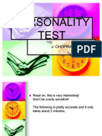 Personality Test