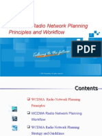 Training Material_WCDMA Radio Network Planning Principles and Workflow