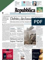 La Repubblica 07.08.11