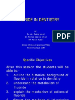 Fluoride in Dentistry
