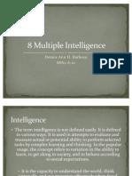 8 Multiple Intelligence