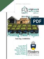 Flinder University - Floating Land Project - V1
