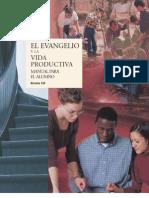 El evangelio y la vida productiva  - Manual para el alumno