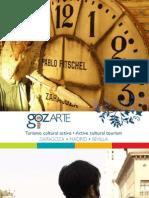 Catálogo de gozARTE para descubrir Zaragoza en grupo