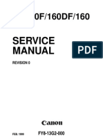 Canon GP160_F160_DF160 Service Manual