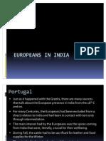 European in India