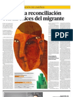 El arte y la reconciliación con las raíces del migrante