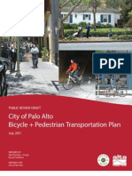 July 2011 Palo Alto Bicycle + Pedestrian Draft Report