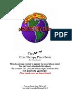 The Mini Pizza Therapy Pizza Book