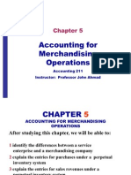 Accounting 211 Chapter 5