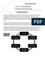 GlobShop IT Sourcing Strategy