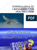 Forgiveness Leads to Anger Management