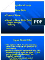 Signals and Noise