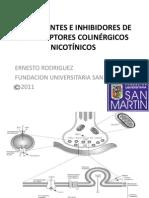 ESTIMULANTES E INHIBIDORES DE LOS RECEPTORES COLINÉRGICOS NICOTÍNICOS