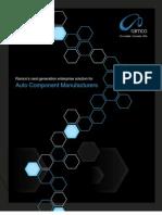 Auto Component Brochure