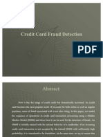 Cradit Card Fraude Detection