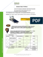 Calentador de Agua Solar Axol-150lts Zonas Frias