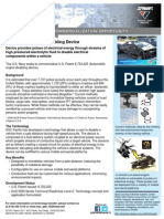Automobile Engine Disabling Device