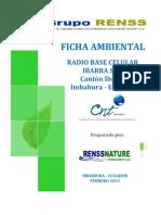 Ibarra Sur - Ficha Ambiental Cnt Ep