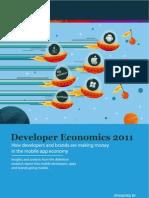 Mobile App Developer Economics