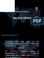 Personal Resume Gerard Ubert (UK-PPT)