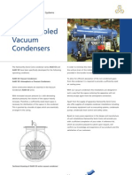 Water Cooled Vacuum Condensers