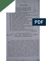 I.D. Arginteanu, Origina Lui Napoleon