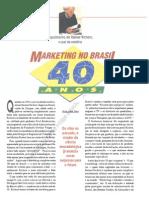Marketing No Brasil 40 Anos