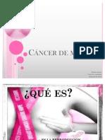 discertación biologia, cancer de mama