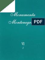 Vojislav D. Nikcevic - Monumenta Montenegrina - Knjiga VI - Tom 3.