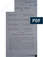 Pericle Popazisi, Comuna Poroi de Sus