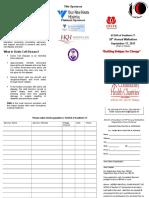 Sickle Cell Walk Pledge form