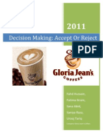 Decision Making Project/ Accept or Reject
