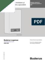 Instructiuni de Instalare Si ere Specialist Buderus Logamax u042