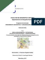 Redes de Infraestructuras de Transporte en Los Municipios y El Eje Troncal en Bolivia - Francisco Ergueta Acebey